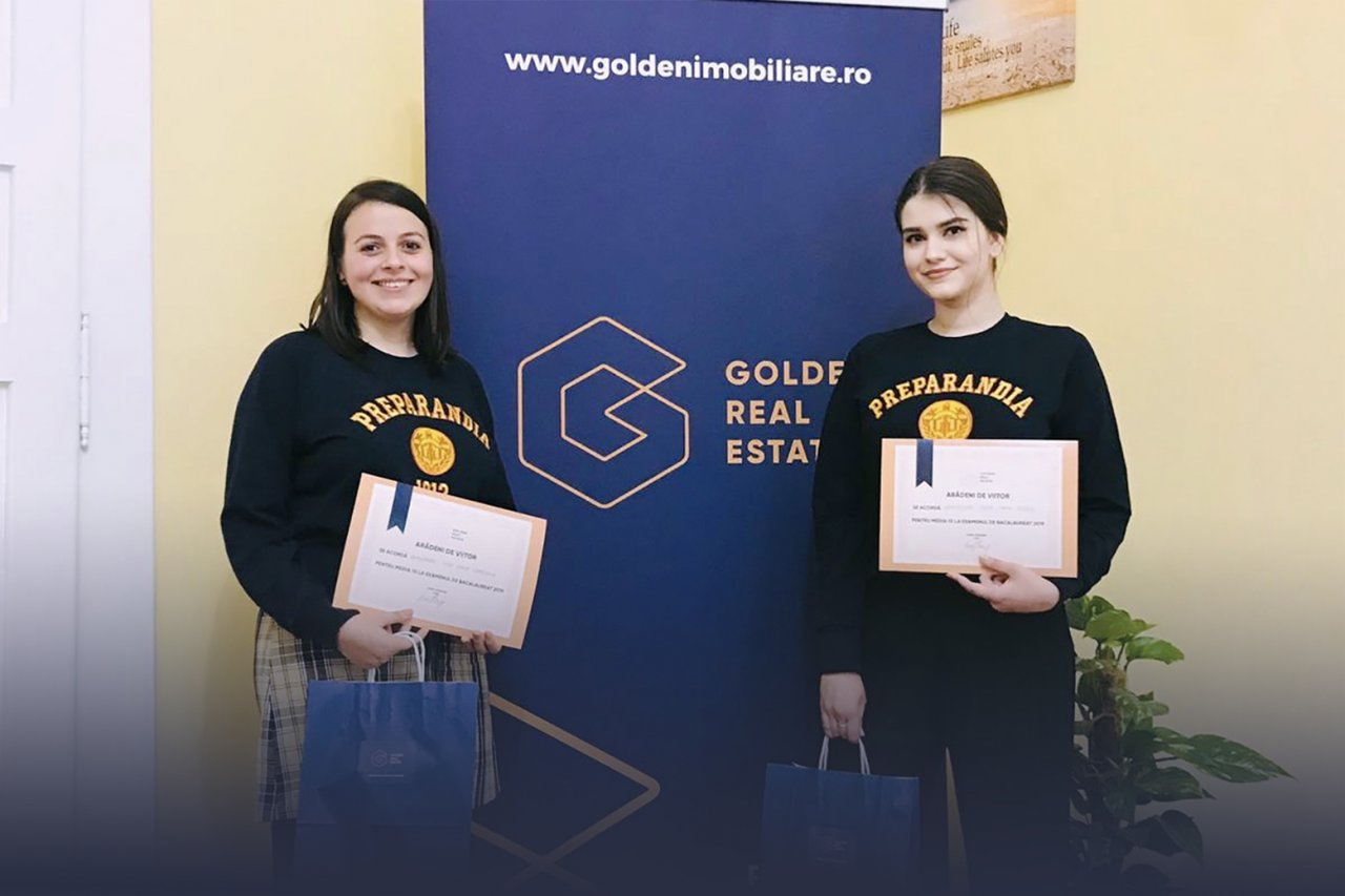 Golden Real Estate a premiat elevele cu media 10 la BAC